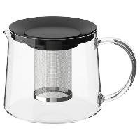 Чайник заварочный стеклянный RIKLIG РИКЛИГ, 1.5 л