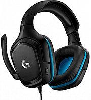 Гарнитура игровая Logitech G432 Gaming Headset Leatherette