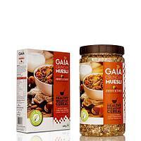 Мюсли орех & фрукты, 400 гр,  Gaia
