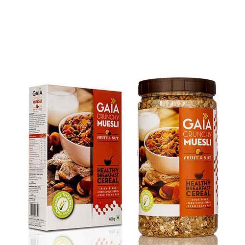 Ореховые мюсли, 400 гр, Gaia
