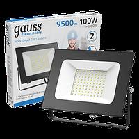 Прожектор Gauss Elementary 100W 9500lm 6500К 175-265V IP65 черный LED