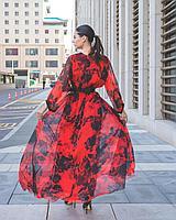Шифоновое платье (вечернее, 2021), фото 1