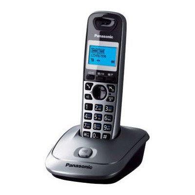 Телефон Panasonic KX-TG2511RUT, черный