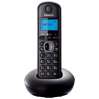 Телефон Panasonic KX-TGB210RUB черный
