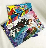 Бумага цветная для детского творчества 6 цв., 12 л., Холодное сердце