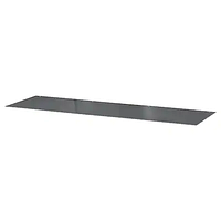 Стеклянная столешница, МАЛЬМ, прозрачный серый 160x48 см