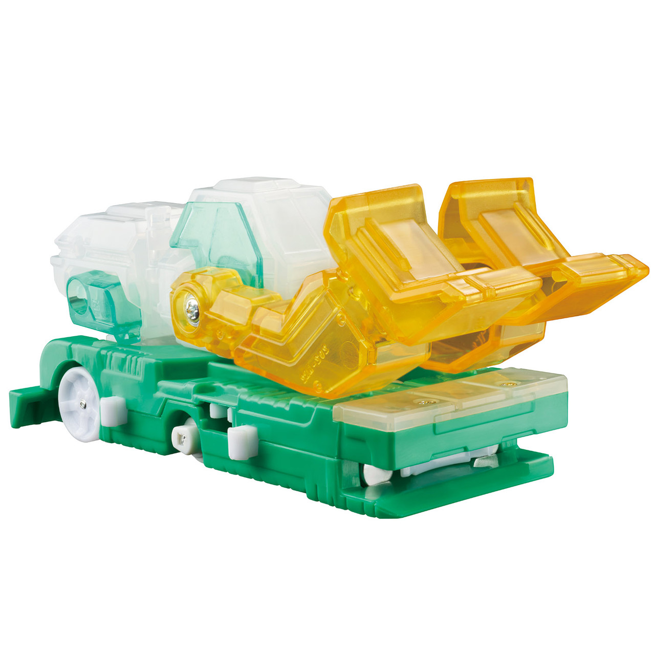 Дикие Скричеры. Машинка - трансформер - Фроузен Сноу Screechers Wild - фото 2