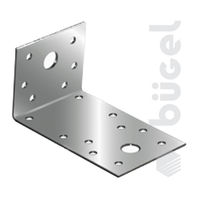 Крепежный угол ассиметричный KUAS-130х50х65 (25шт.)