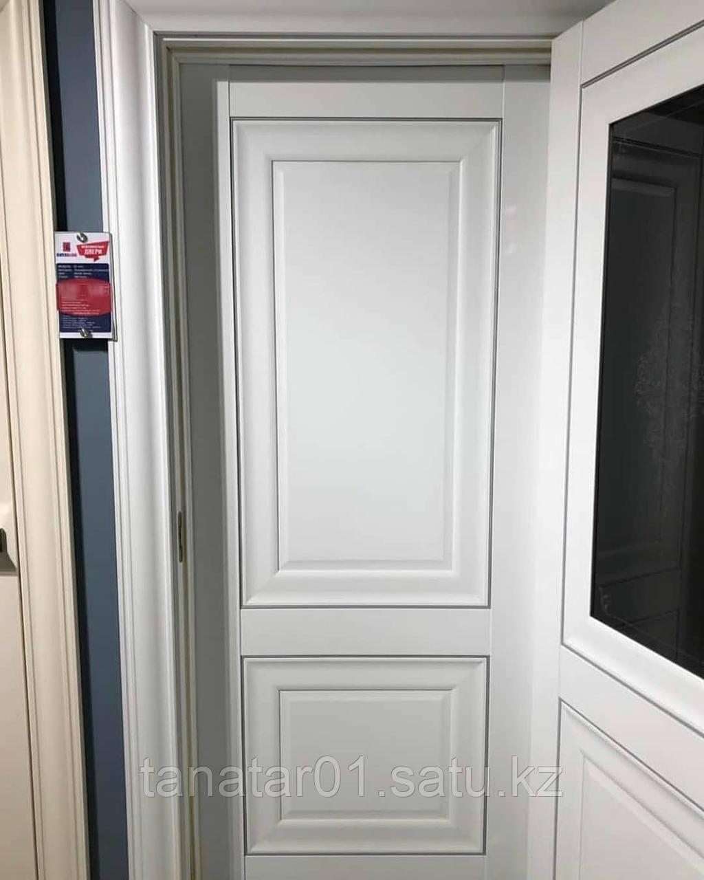 Дверь DL310 Глухая, цвет Белая эмаль