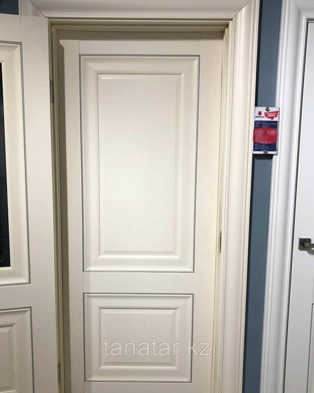Дверь DL310 Глухая, цвет Ваниль