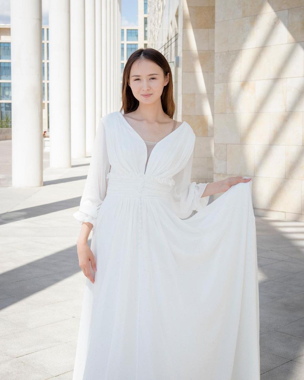 Белоснежное платье (вечернее, summer collection)
