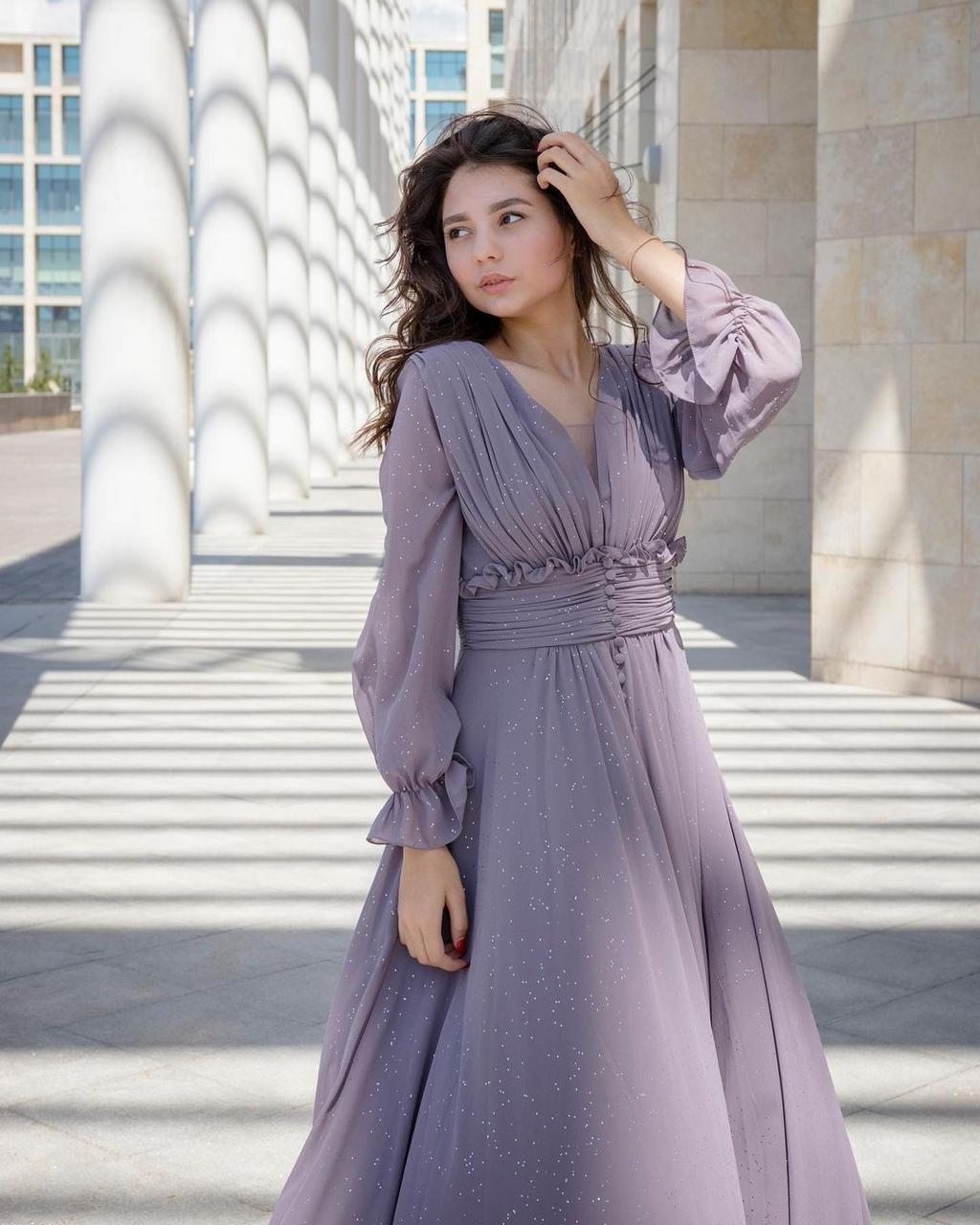 Легкое и воздушное вечернее платье (Hanym, summer 2021)