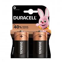 Батарейки Duracell бочонок D LR20/MN1300, 1.5 V, 2 шт./уп
