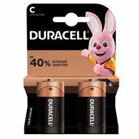 Батарейки Duracell бочонок C LR14/MN1400, 1.5 V, 2 шт./уп.