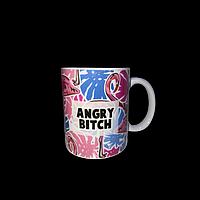 "Кружка ""Angry bitch"""