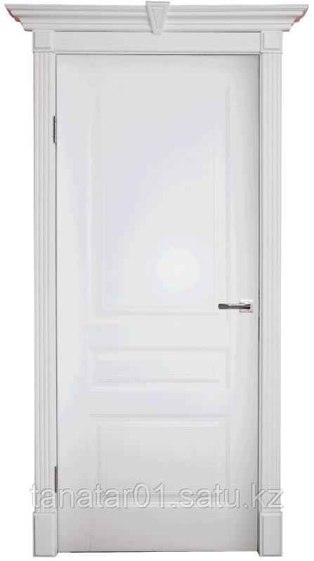 Дверь DL255 глухая, 2,2м, цвет Белая эмаль