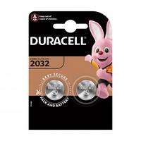 Батарейки Duracell дисковые CR2032, 3V, 3,2 *20 мм, 2 шт./уп.