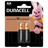 Батарейки Duracell пальчиковые AA LR6/MN1500, 1.5 V, 2 шт./уп.