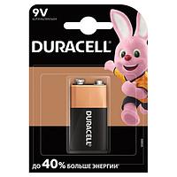Батарейка Duracell F8/КРОНА/6LR61, 9В, алкалиновая, 1 шт. в блистере
