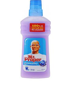 MR PROPER Моющая жидкость для полов и стен Лавандовое Спокойствие 500мл