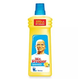 MR PROPER Моющая жидкость для уборки Универсал Лимон 750мл