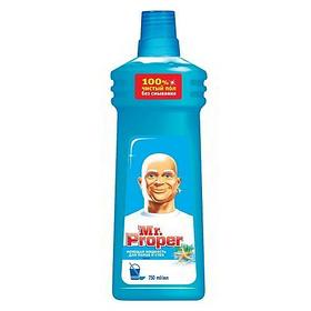 MR PROPER Моющая жидкость для уборки Универсал Океанская свежесть 750мл
