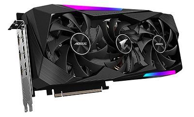 Видеокарта Gigabyte AORUS GeForce RTX 3070 MASTER (GV-N3070AORUS M-8GD)