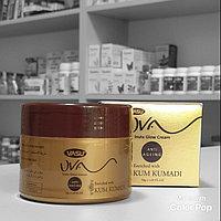 Крем Кумкумади с шафраном uva insta glow cream Vasu золотой тюбик / банка