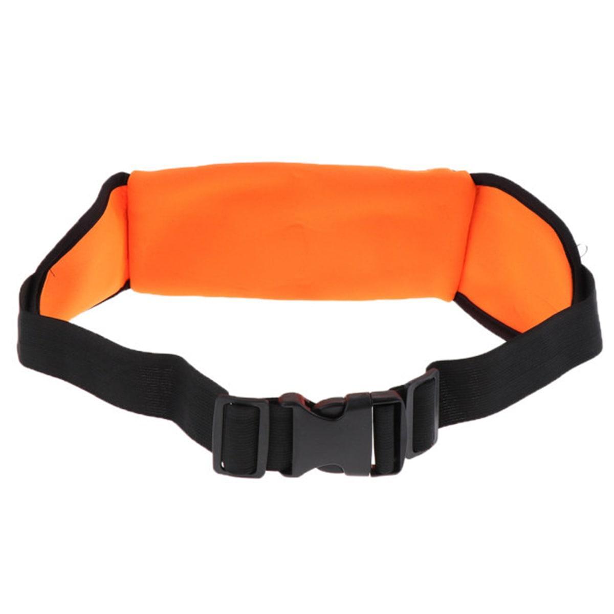 Сумка спортивная поясная для телефона оранжевая - фото 5
