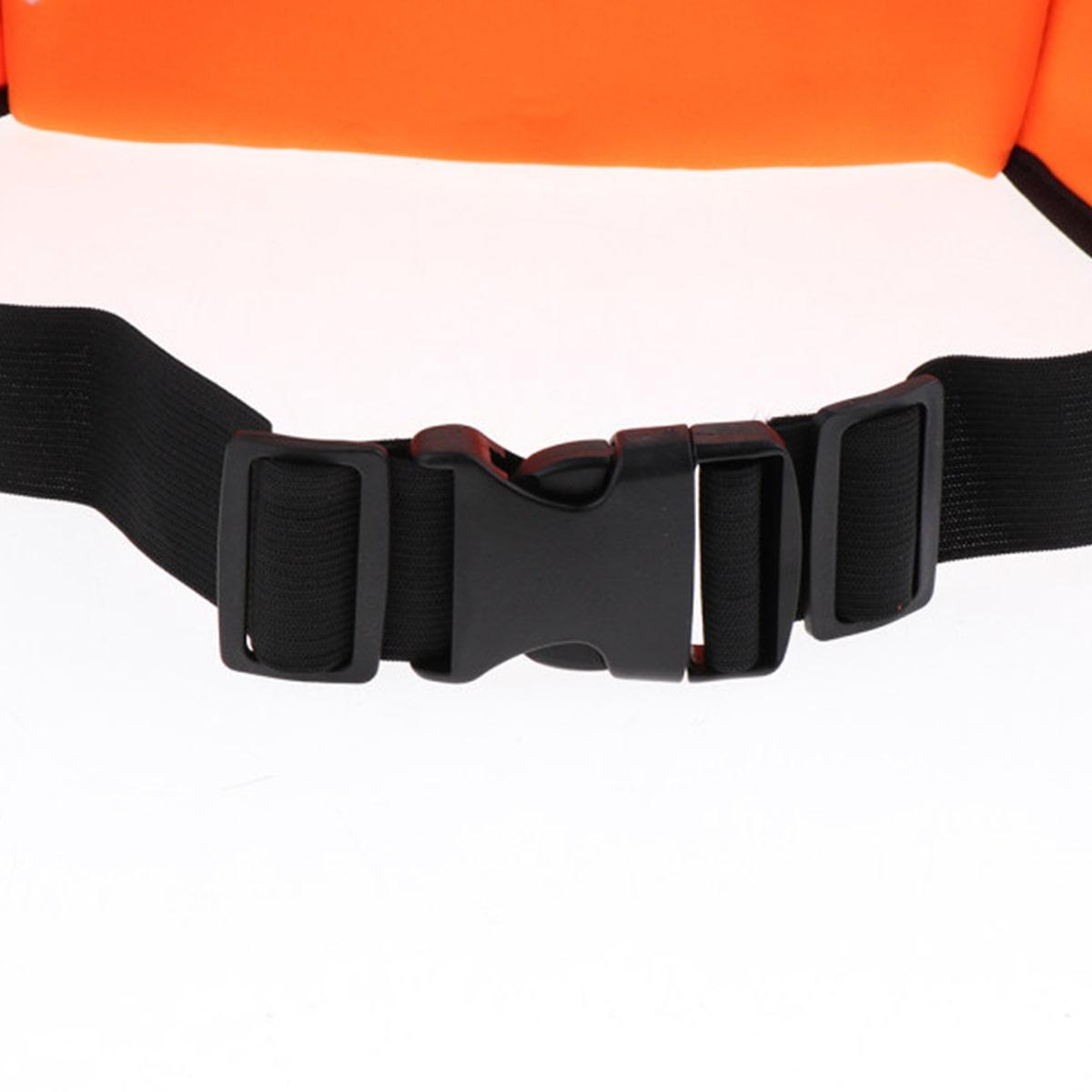Сумка спортивная поясная для телефона оранжевая - фото 8