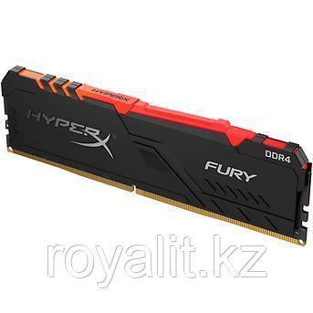 Модуль памяти Kingston HyperX Fury RGB DDR4 8Gb 3200 MHz