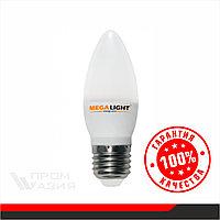 "LED ЛАМПА C37 ""Свеча"" 10W 900Lm 230V 6500K E27"