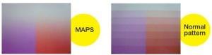 Mimaki Tx500-1800B: функция устранения межпроходной несогласованности MAPS