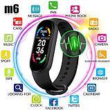 Браслет здоровья Smart Band M6 давления, пульса и кислорода в крови., фото 6