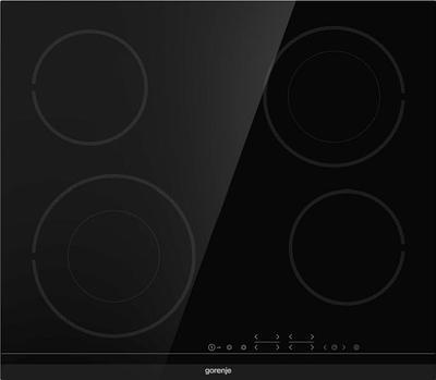 Встраиваемая стеклокерамическая поверхность Gorenje ECT644BCSC черный