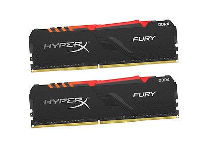 Оперативная память Kingston HyperX Fury RGB, HX436C18FB3AK2/64