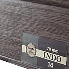 Плинтус Arbiton Indo 14, Венге Африка, 2500х70х26 мм, фото 2