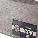 Плинтус Arbiton Indo 16, Дуб Кавказский, 2500х70х26 мм, фото 2