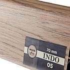 Плинтус Arbiton Indo 05, Дуб Уинстон, 2500х70х26 мм, фото 2