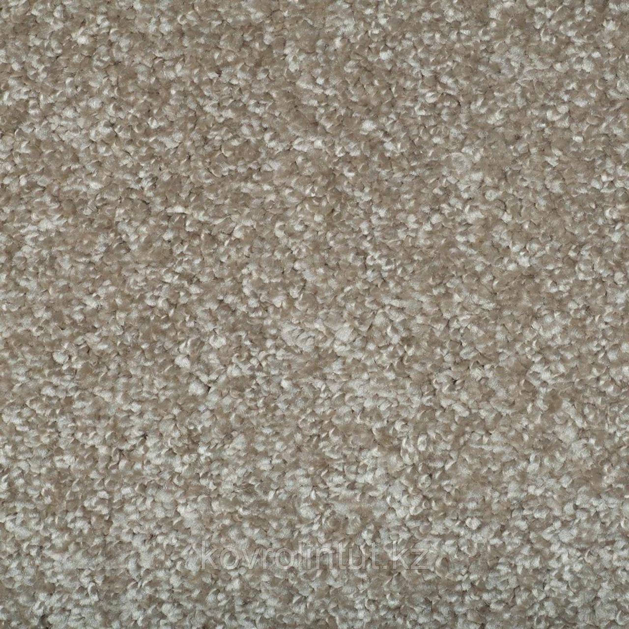 Покрытие ковровое Santa Fe 33, 4 м, бежевый, 100% РР
