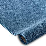 Покрытие ковровое Santa Fe 74, 4 м, синий, 100% РР, фото 2