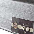 Плинтус Arbiton Indo 17, Алюминий, 2500х70х26 мм, фото 2