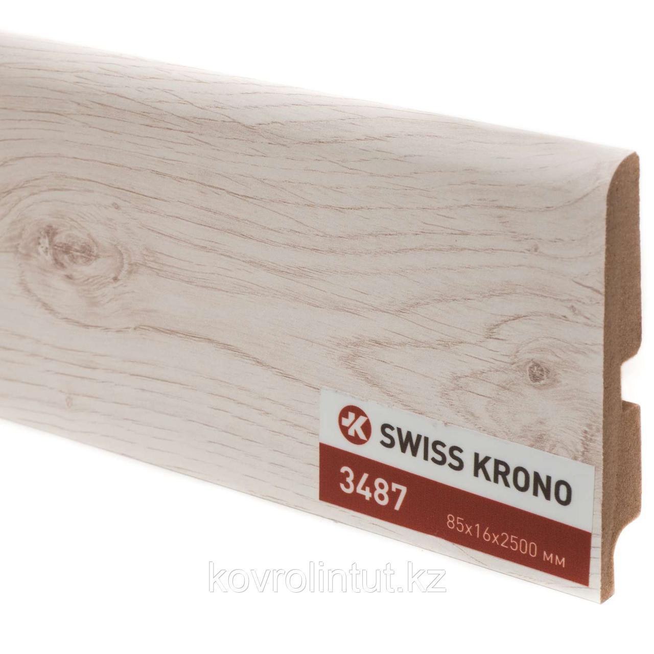 Плинтус Kronopol P85 3487 Bolero Oak 2500х85х16мм
