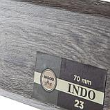 Плинтус Arbiton Indo 23, Дуб Модена, 2500х70х26 мм, фото 2