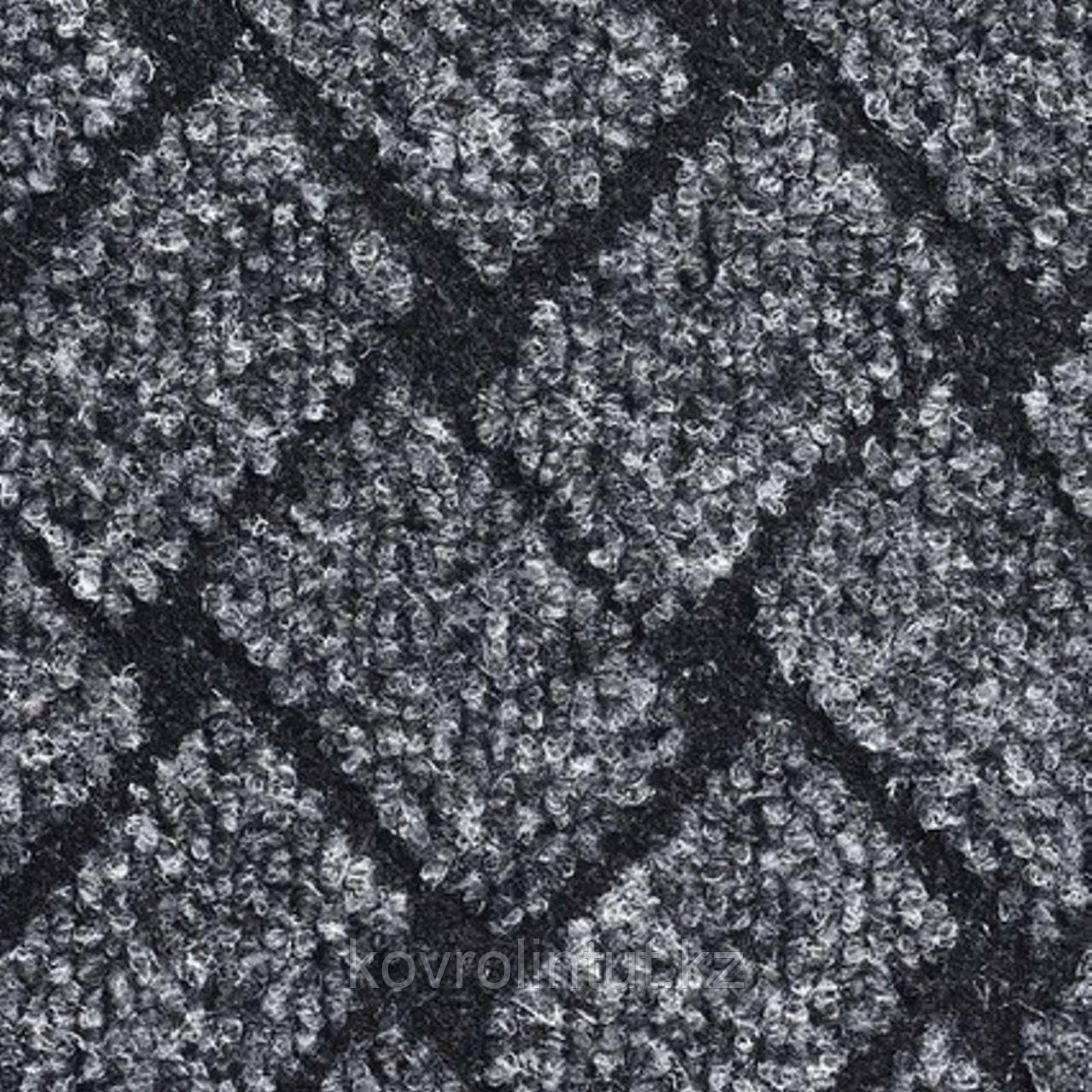 Покрытие ковровое Rhombus 70, 4 м, серый, 75% PP/25% PES