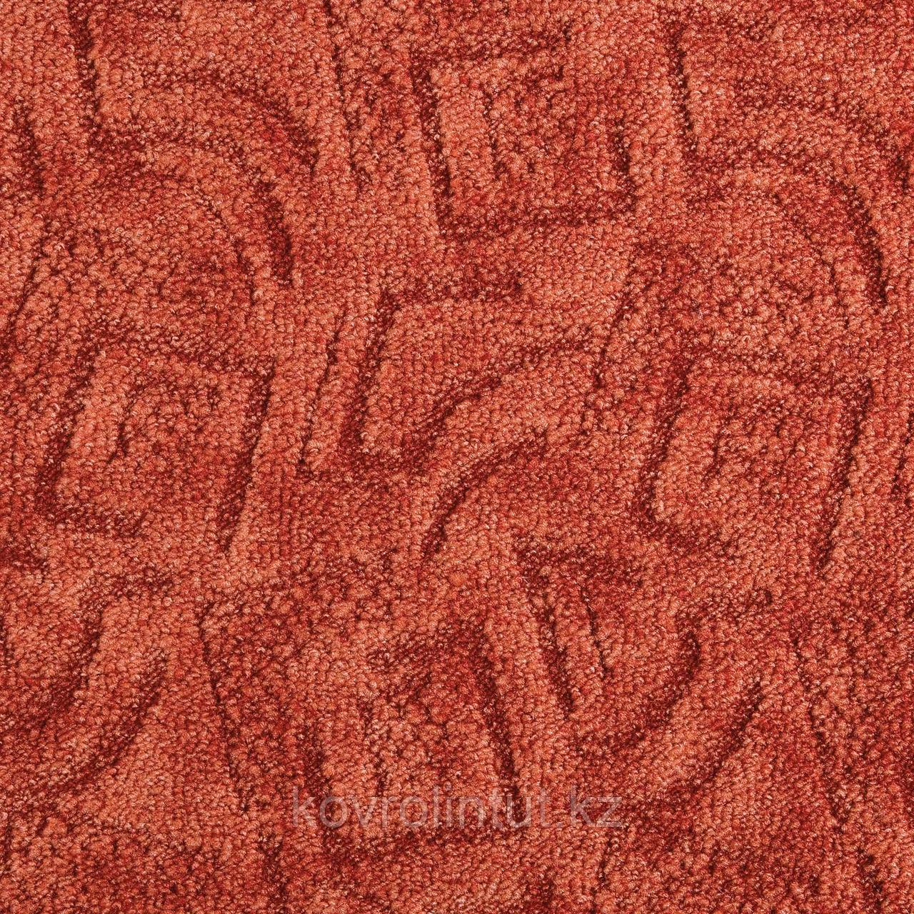 Покрытие ковровое Shape 64, 5 м, красный, 100% PA