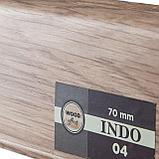 Плинтус Arbiton Indo 04, Дуб Лингбург, 2500х70х26 мм, фото 2