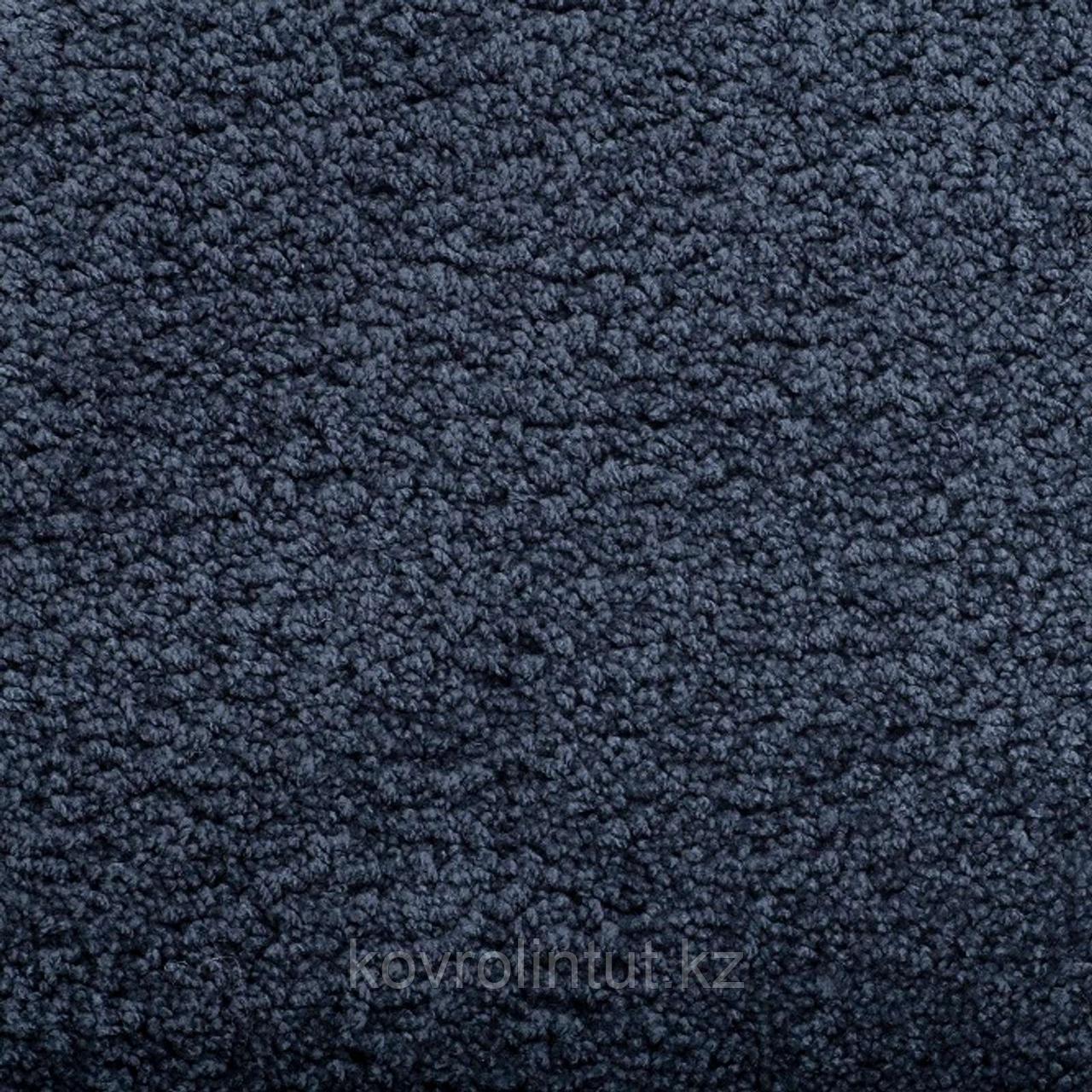 Покрытие ковровое Amazing 76/Julia 42, тёмно-серый, 4 м, 100% PES