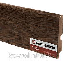 Плинтус Kronopol P85 3104 Garda Oak 2500х85х16мм