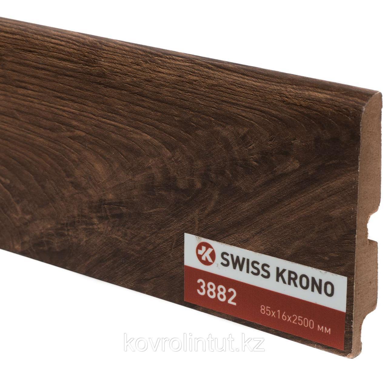 Плинтус Kronopol P85 3882 Barley Walnut 2500х85х16мм